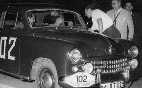 Rallye de los Pirienos 20-9-1956