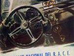 Portada Programa del Rallye Nacional del RACE de 1959