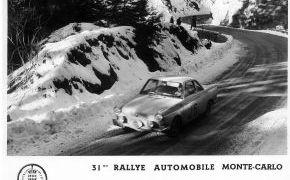 Rallye de Montecarlo. Primer español clasificado. 1962
