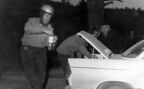 Rallye de Montecarlo. En plena asistencia. 1962