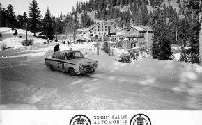 Rallye de Monte-Carlo. 1964. 4.500 Km de recorrido
