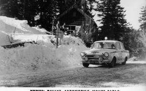 Rallye de Monte-Carlo. 1964.