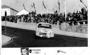 Rallye das Camelias.1964. 8 y 9 de febrero. Mejor español clasificado y vencedor en Turismos