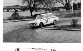 XI Rallye Internacional Automobil Clud de Portugal. 1964. Primero en el Circuito de San Bartolomeu