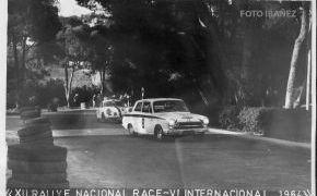 XII Rallye RACE. 1964. 4º Clasificado.Mejor tiempo en la Casa de Campo