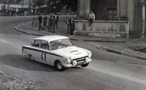Rallye dos Cataluñas. 1965. Pierde el Campeonato de España al abandonar por avería