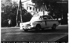 XII Rallye RACE. 1964. 4º Clasificado. Primero en Turismos