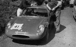 Estreno del Fiat Abarth 1000 Bialbero. Vencedor absoluto y record de la prueba.