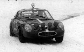 Rallye de Montecarlo. Abandonó por la gran dureza del Rallye