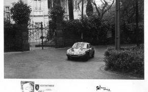 Rallye das Camelias, Portugal. Febrero de 1965. Lalao estuvo copilotado por Enrique Sanjurjo.