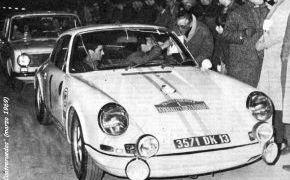 Rallye Costa Brava. Marzo de 1969. Lalao y Julio Leal vencedores.
