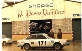 Rallye de Montecarlo. Seat no ayudó al equipo, pero sí el concesionario Pérez Rumbao.