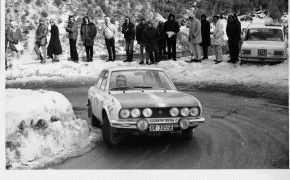 Rallye de Montecarlo. De los veinte equipos españoles que partierón, sólo trece llegaron al Principado. El único que no penalizó fue Lalao.