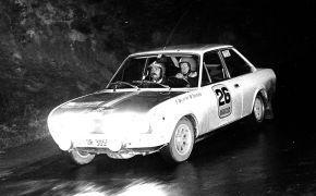 Rallye Vasco-Navarro. 1972 Con M. González como copiloto. Al no tener preparado el Alpinche, volvió a utilizar el Seat,; donde sólo pudo luchar contra los vehículos de fabricación nacional.