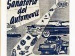 Anuncio Sanatorio del automóvil