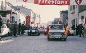 Rallye Firestone 1969. Con Roberto Tejelo como copiloto.