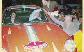 Rallye Vasco Navarro 1970. Con Ventura como copiloto.