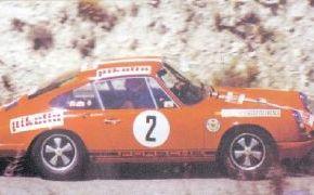 Rallye Pikolin 1970. De nuevo con Julio Leal como copiloto.