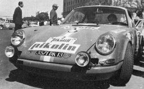 Rallye Pikolin 1970. Tercer puesto en la clasificación final.