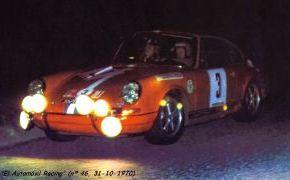Rallye de España 1970. Reverter vence en el Circuito del Jarama.