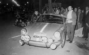 Rallye 2000 Virages 1970. Lalao con Aurelio Vázquez como copiloto.