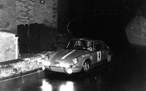 Rallye 2000 Virages 1970. El  Rallye se complicó por la presenecia de la lluvia despúes de una prolongada sequia, lo que hizo que la carretera se puesiera como el jabón según comentario del propio Lalao