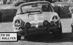 Rallye Costa del Sol 1970. Contó una gran inscripción: Juncosa, Ruiz Giménez, Lencina, Lucas Sáinz, Nunes, Gargallo... y el propio Reverter.