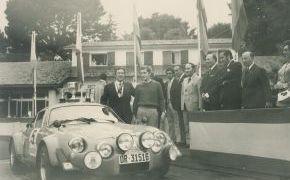 Rallye Rias Bajas 1972.