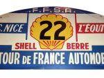 Placa de Tour de France. 1961