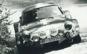 Rallye Rias Bajas. 1973