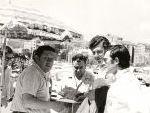 Rallye de Orense 1970. Control Horario