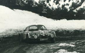 I Subida a la Estación de Montaña de Manzaneda. 1974