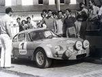 Salida Rallye Rias Bajas 1973