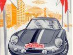 Portada del Reglamento de la 33º Edición del Rallye de Monte-Carlo.