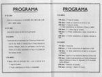 1º Rallye a las Rías Bajas 1963. Programa