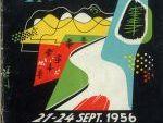 Rallye de los Pirineos 1956. Portada Reglamento.