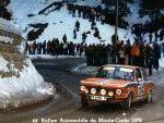 BMW 2002 Tii de Reverter Competición en la 44 Edición del Rallye de Monte-Carlo
