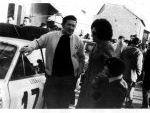 Rallye de Montecarlo 1972. Parada en Astorga