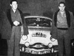 Salida de Lisboa. Rallye de MonteCarlo de 1958