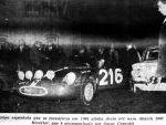 Salida desde Lisboa. 34º Edición del Rallye de Monte Carlo 1965