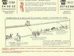Control Horario. Rallye dos Cataluñas 1965