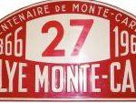 Placa Montecarlo 1966