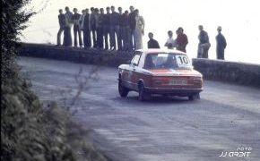 Subida a La Manzaneda, prueba del Rallye Ciudad de Oviedo de 1974