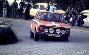 Rallye Ciudad de Oviedo de 1974, BMW 2002 tii, grupo 1, cuartos clasificados