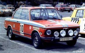 Parque Cerrado Rallye Ciudad de Oviedo. 1974