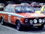 BMW 2002 tii. Rallye Ciudad de Oviedo 1974