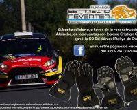 Subasta Solidaria de los guantes de Cristian García