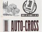 Cartel anunciador del II Auto-Cross de A Pousa, 30 de septiembre de 1979. Encontrado en la Biblioteca Nacional de España.