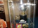 Miniatura del Renault 4/4. Primer trofeo conseguido por Lalao. Trofeo FASA Renault