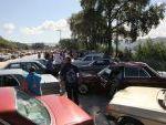 Los Mercedes en la explanada del Museo en Santa Cruz de Arrabaldo. Foto José Paz. Diario La Región